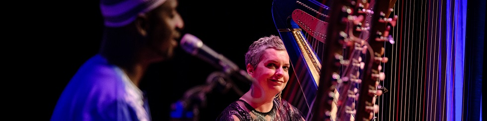 Catrin Finch & Seckou Keita at National Centre For Early Music